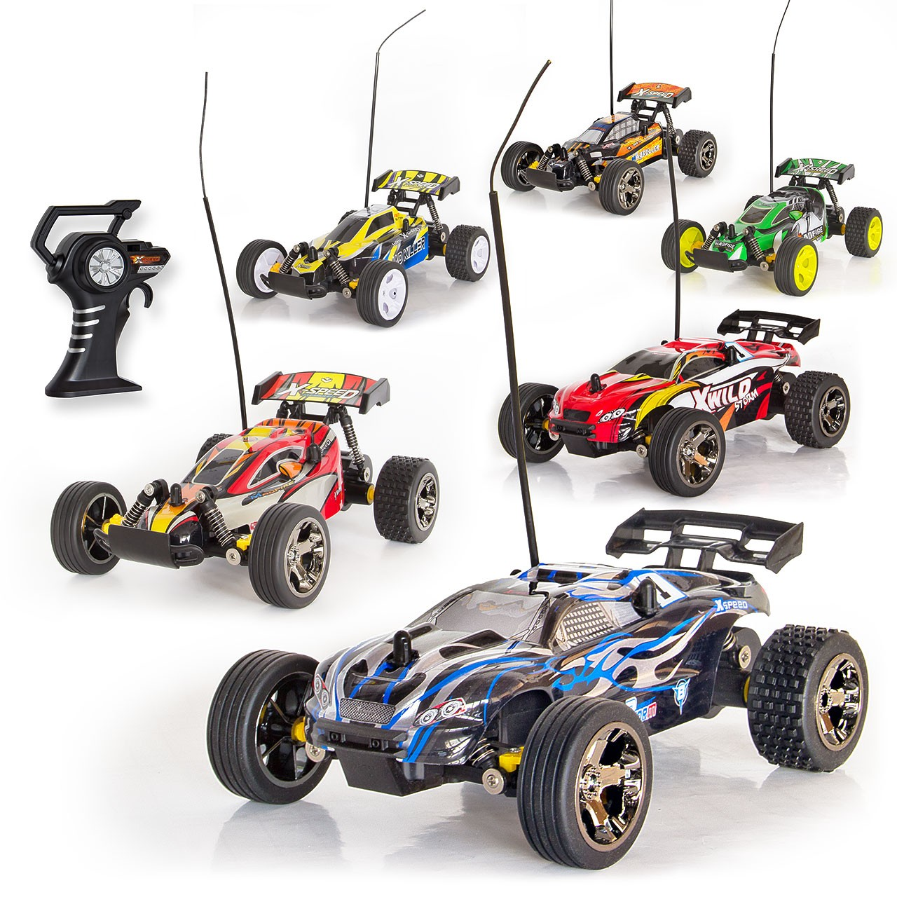 rc car ferngesteuert truggy elektro auto buggy mad runner. Black Bedroom Furniture Sets. Home Design Ideas