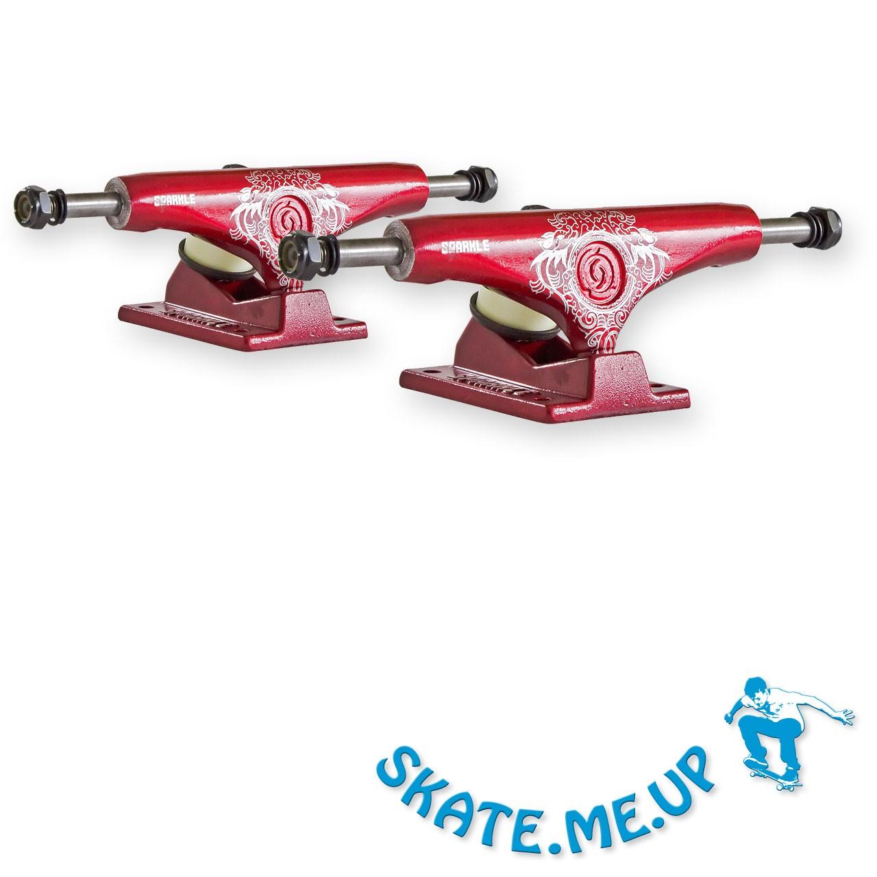 Sparkle-Superlite Red Dragon 5,0 Low Skateboard Achsen - Trucks (1 Paar)