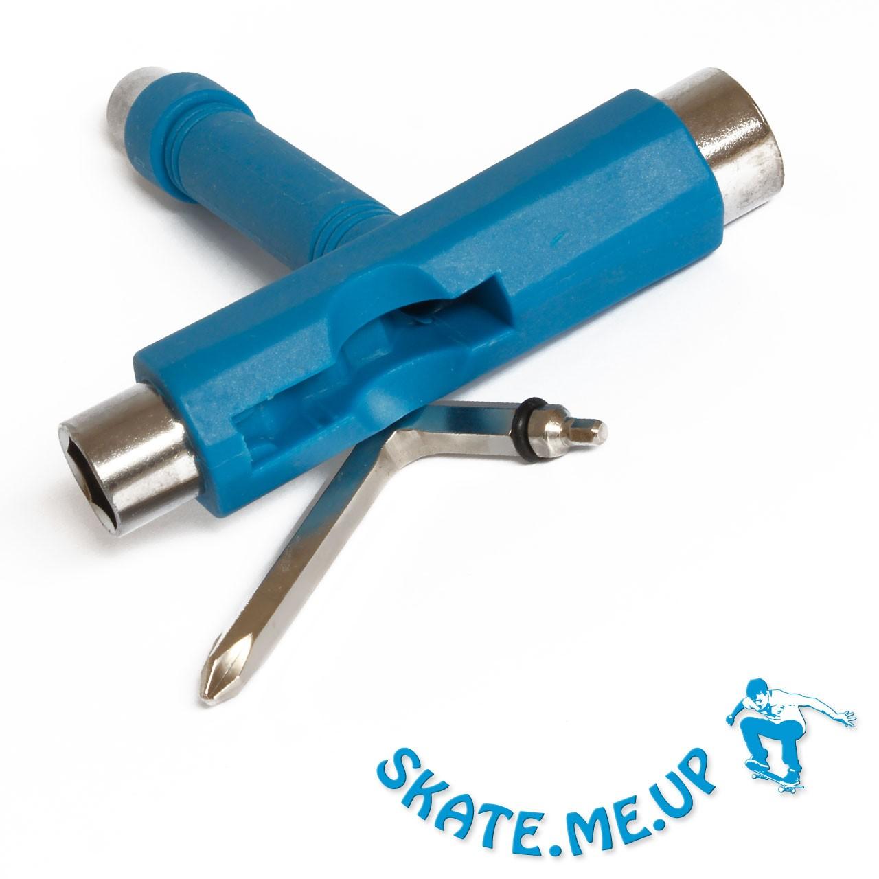 Skateboard Werkzeug  T-Tool , Skate Tool blau