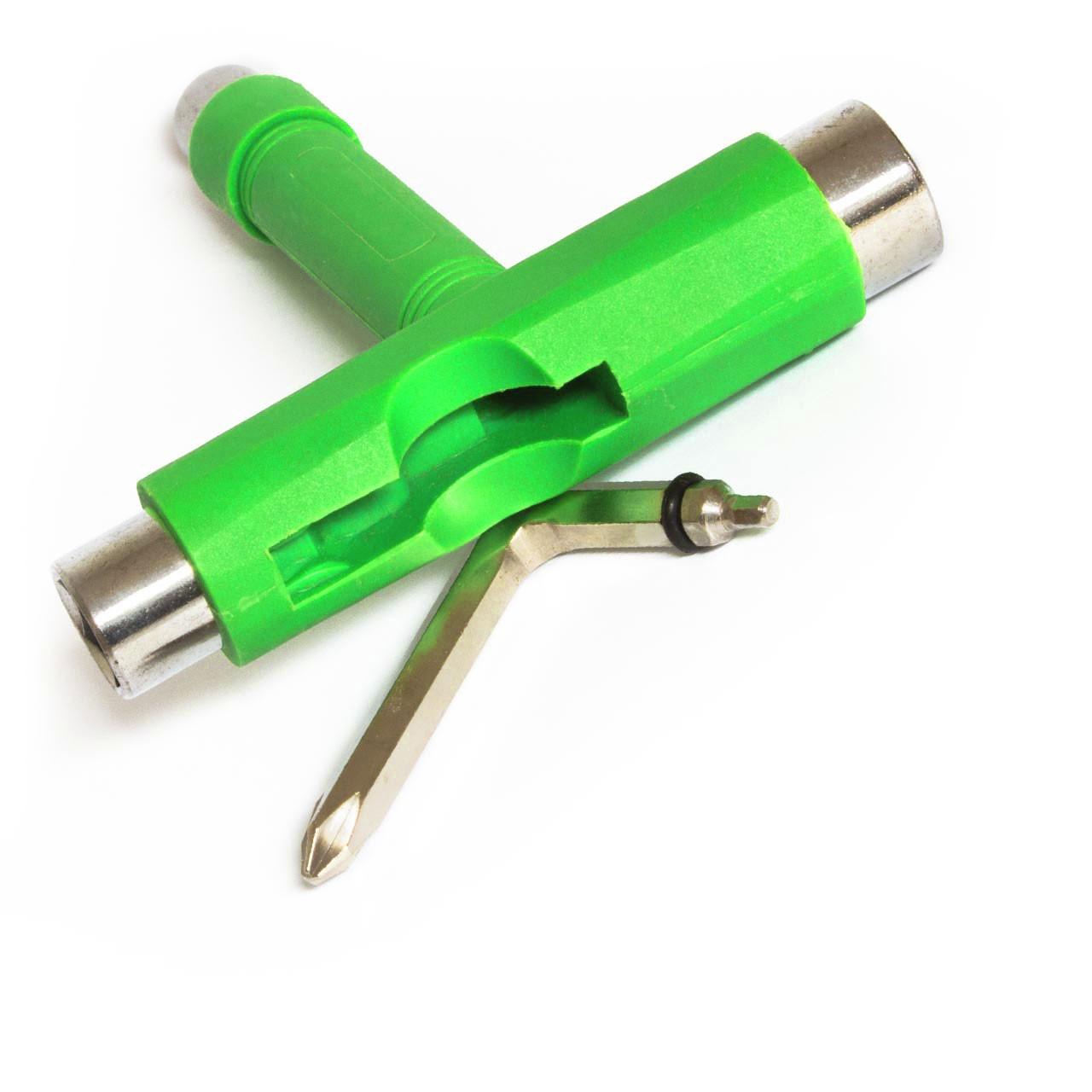 Skateboard Werkzeug  T-Tool , Skate Tool grün