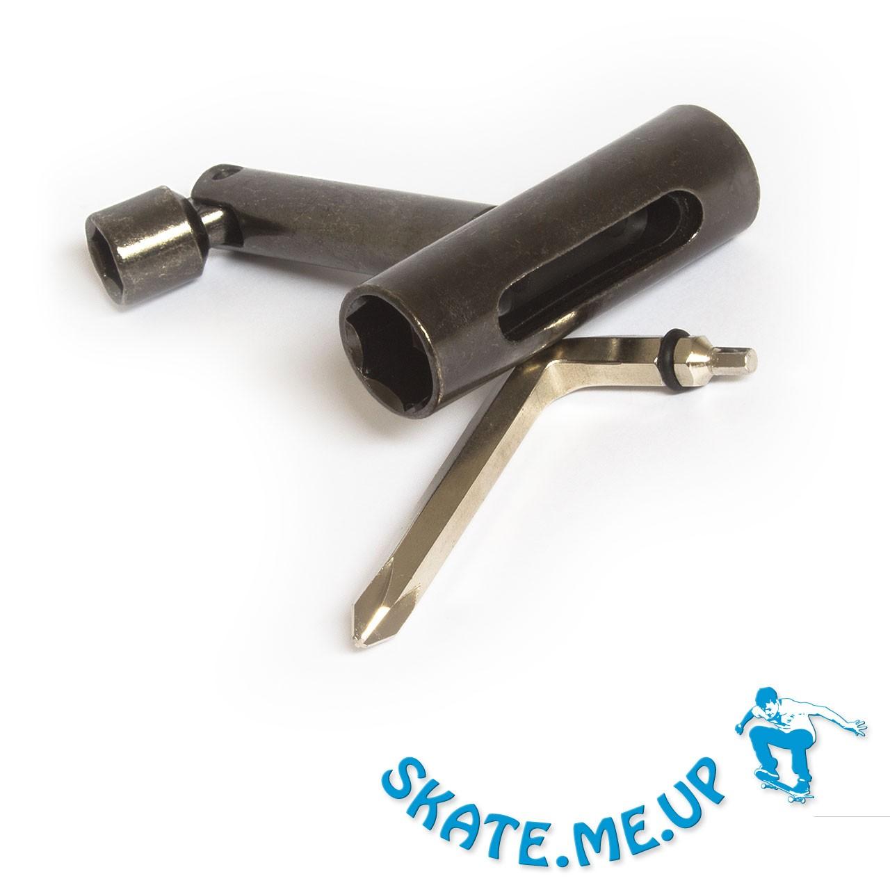 Skateboard Werkzeug mit Gelenk, T-Tool , Skate Tool, Longboard Tool