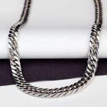 Hosenkette Edelstahl Schlüsselkette Biker Königskette-Ringe 90-60 cm
