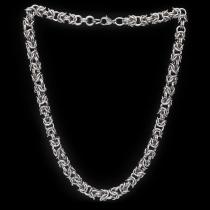 Königskette aus Ringen 9mm