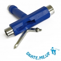 Skateboard Werkzeug  T-Tool , Skate Tool dunkelblau