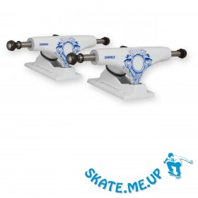 Sparkle-Superlite White Dragon 5,0 Low Skateboard Achsen - Trucks (1 Paar)