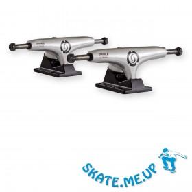 "2 x 5,25"" Titanium Mid Hanger BlSlv Skateboard Achsen"
