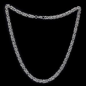 Königskette aus Ringen 6mm