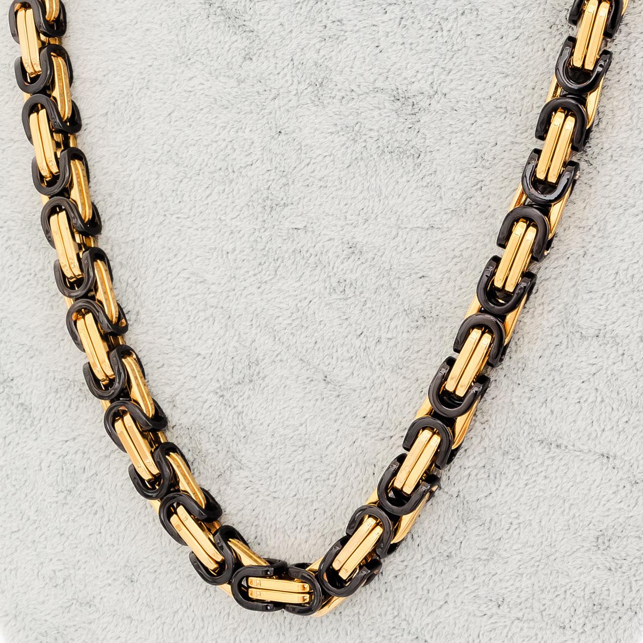 Byzantiner Gold / Schwarz