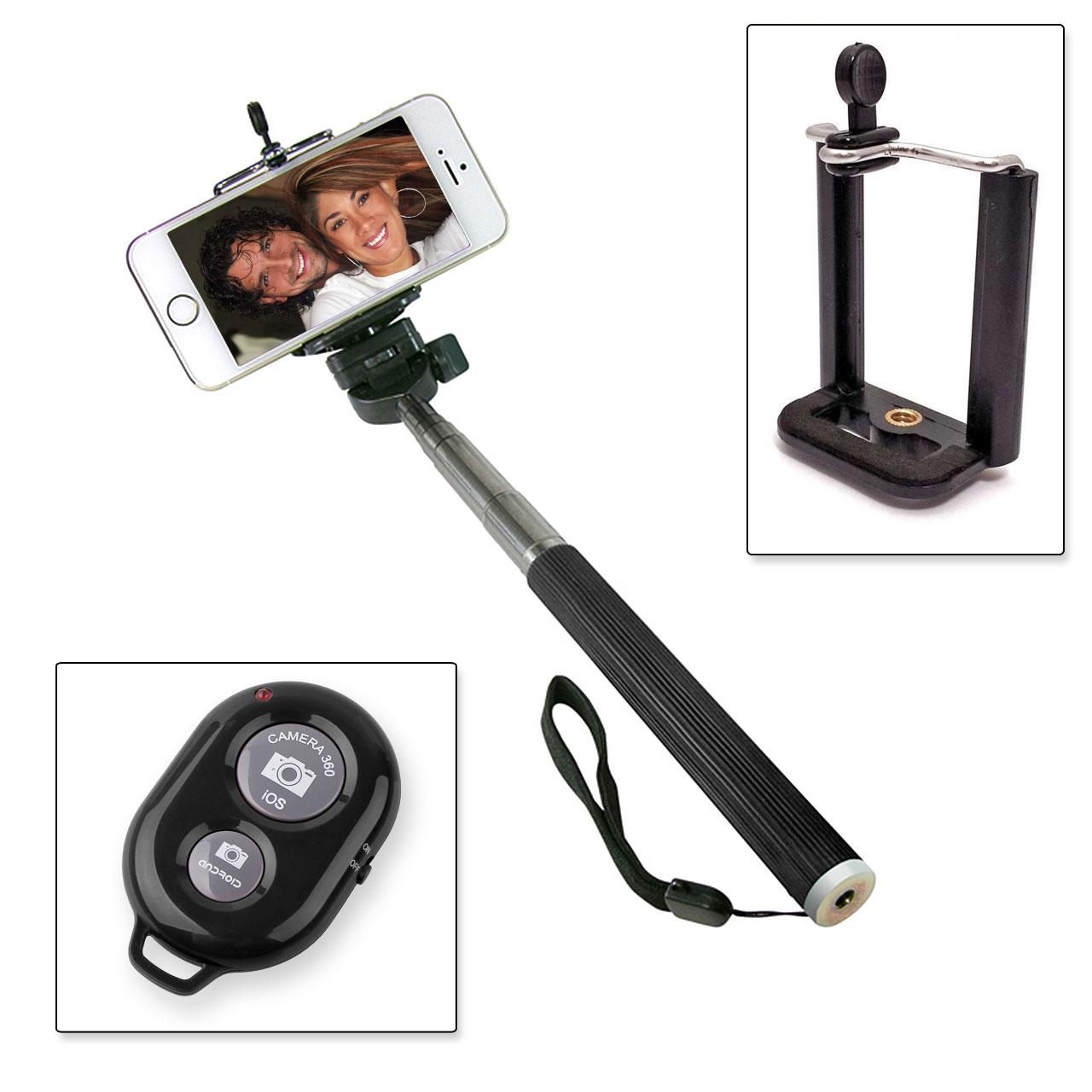 selfie stick schwarz